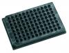 Планшеты 96-луночные Krystal™ 2000 черные, объем лунки 350 мкл, полистирол, прозрачное дно, для клеточных культур, с крышкой, стерильные