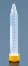 Пробирки центрифужные 15 мл (град. 14 мл), коническое дно, PP, стерильные