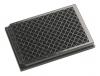 Планшеты 96-луночные черные, рабочий объем лунки 350 мкл, лунки отдельные, непрозрачное плоское дно, полистирол, без крышки, нестерильные,  для флуоресценции - детекция сверху